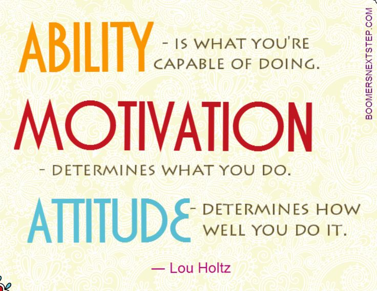 #boomersnextstep #ability #motivation #attitude #quotes #careers #clarity #success