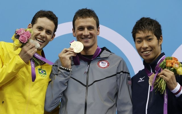 London Olympics 2012: Lochte wins United States' first gold in blowout