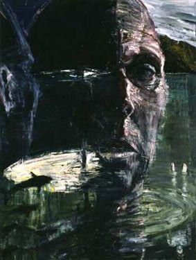 Euan Macleod, Self Portrait / Head Like a Hole, 1999