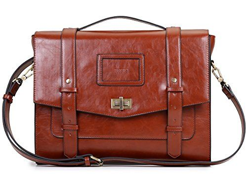 New Trending Briefcases amp; Laptop Bags: ECOSUSI Ladies Faux Leather Briefcase Shoulder Laptop Messenger Bags Satchel Bag Cambridge Backpack Fit 14 Laptop Brown. ECOSUSI Ladies Faux Leather Briefcase Shoulder Laptop Messenger Bags Satchel Bag Cambridge Backpack Fit 14″ Laptop Brown  Special Offer: $48.99  300 Reviews Featuring high style and maximum storage capabilities, this traveler's messenger bag is a must-have for short...