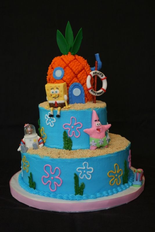 25 best ideas about sponge bob cake on pinterest sponge bob on birthday cake designs to do at home