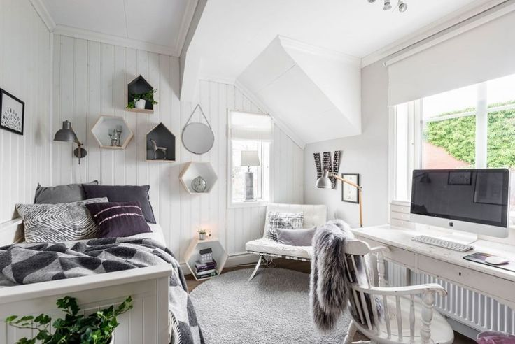 Perfect scandinavian look - teenager bedroom