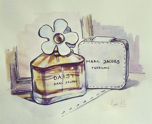 Marc Jacobs Daisy art, via I am Liebe