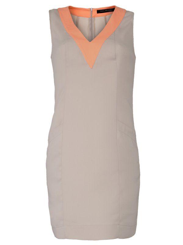 Sukienka damska biała  - SSU0705 sukienka - TOP SECRET - Odzieżowy sklep internetowy TOP SECRET