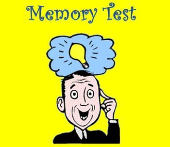 Do you think your students could remember 30 pictures if you only gave them 1 second per picture to remember them? The Memory Test is a fun activity that can demonstrate the power of the human brain. I use this to begin my Nervous System Unit and it is great for discussion, provoking curiosity, or providing anticipation of what will come next.  $