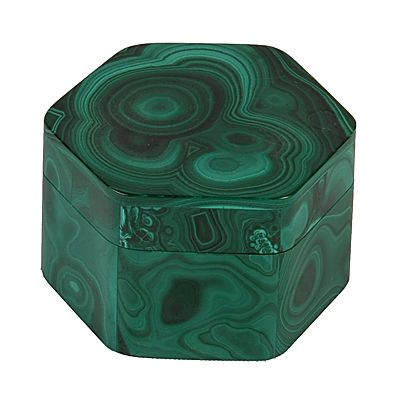 malachite box. dreaming of a large, c1940s-era rectangular malachite box. The cost $thousands though...