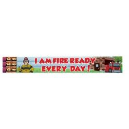 """Ace's """"I am Fire Ready Every Day!"""" Pencil"""