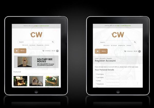 Creative Woodcraft - Responsive eCommerce Store