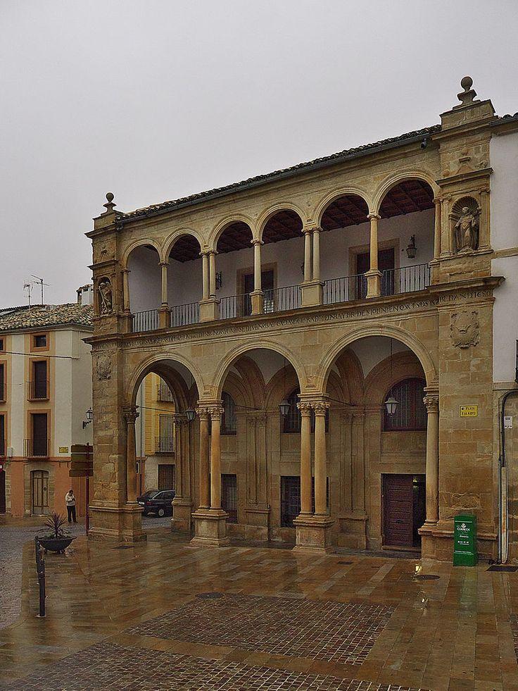 Antiguas Casas Consistoriales de Úbeda, Jaén - Úbeda - Wikipedia, la enciclopedia libre