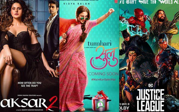 Box Office Prediction: Justice League To Beat Aksar 2 And Tumhari Sulu