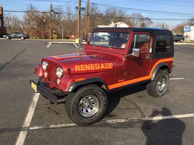 1986 American motors Jeep CJ7 renegade