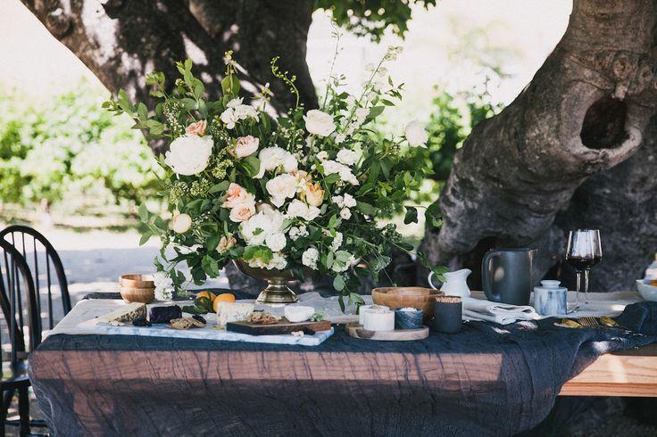 Modern Farmhouse Wedding Inspiration by Alexandra Wallace and A Lovely Creative 44