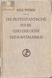 Protestant work ethic - Wikipedia