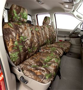 Camo seat covers for Josh's truck