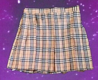 20% OFF PLAID SKIRTS! SALE THRU MARCH  be a cute lil school girl in this permanently pleated plaid skirt.  Only on DIX for $12