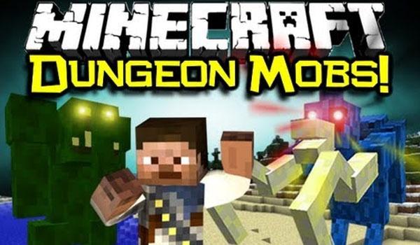 Dungeon Mobs Mod para Minecraft 1.5.1