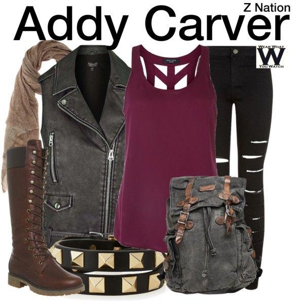 Inspired by Anastasia Baranova as Addy Carver on Z Nation.