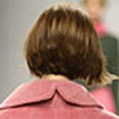 Boblijn kapsels achterkant