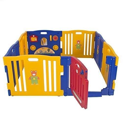 Toddler Play Yard Playpen Portable Safety Gate Travel Door