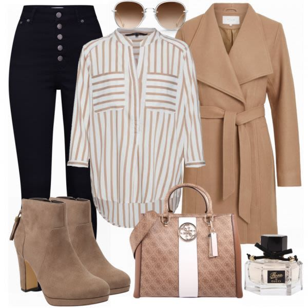 GUESS Handtasche Damen Outfit Komplettes Business Outfit