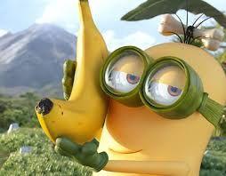 Minions - Schaut ruhig her, hab meine erste Banane geerntet. 😊