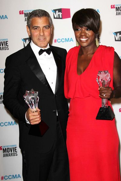 George Clooney and Viola Davis are Critics Choice darlings!