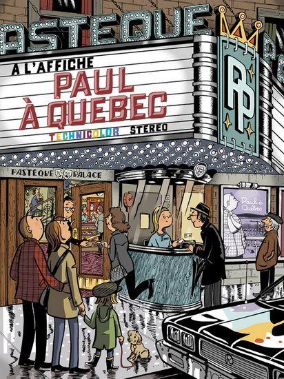 MICHEL RABAGLIATI - Paul à Québec N. éd. - Albums - LIVRES - Renaud-Bray.com - Livres + cadeaux + jeux