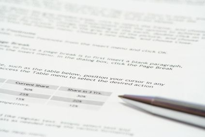 How to Write an Executive Report in Summary Format