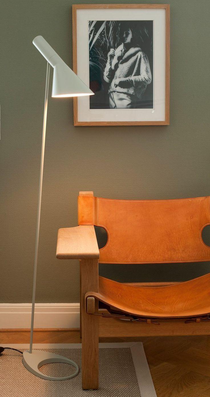 Floor-standing lamp / contemporary / steel / zinc - AJ - Louis Poulsen Lighting A/S International