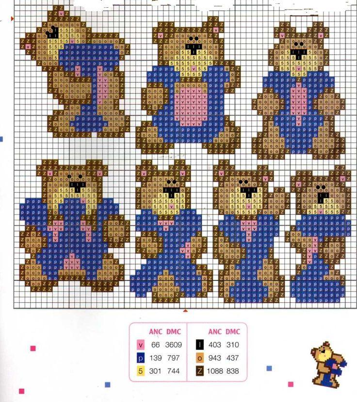cross stitch  - CHÁ MATE COM PINHÃO: Alfabeto e Letras