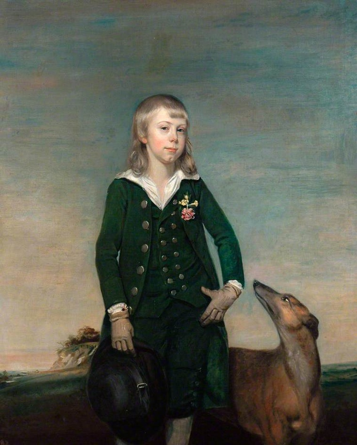 Richard Darley (and a greyhound), 1783,  by Thomas Gainsborough (attributed to). Scarborough Museums and Gallery