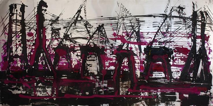 "Mina Papatheodorou Valyraki: ""Cranes in aluminium"", 2006"