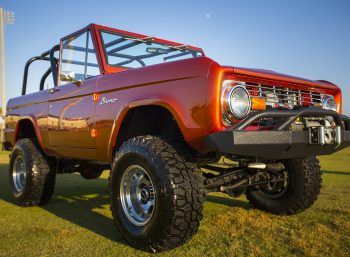 1971 Classic Ford Bronco for sale - front passenger side