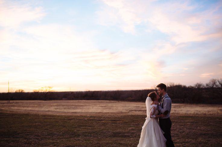 Flying V Ranch February Outdoor Wedding
