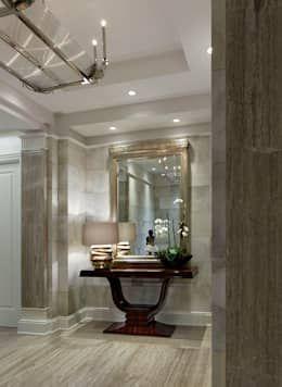 Foyer: classic Corridor, hallway & stairs by Douglas Design Studio