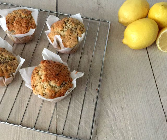 ➾ Het lekkerste recept voor Citroen Muffins met Maanzaad! ✓ Fris & Zoet ✓ Makkelijk én zelf te maken ✓ Verbazend lekker
