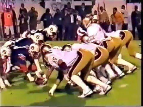 1982 Tangerine Bowl #18 Auburn vs Boston College 1 of 1