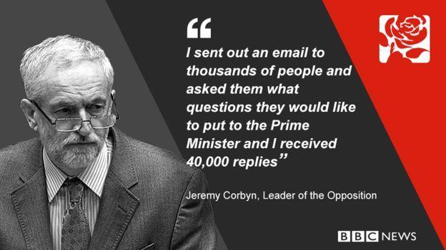 Jeremy Corbyn said: