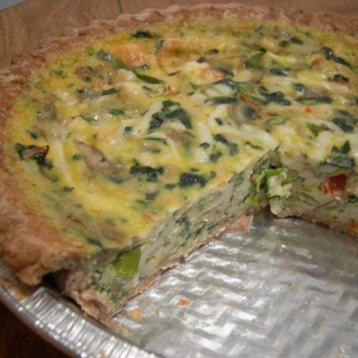 Rachel Ray's Basic Quiche Recipe
