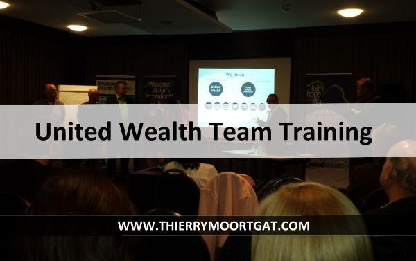 In dit artikel geef ik alvast een woordje uitleg over de United Wealth Team Training & Tools In de netwerk marketing industrie ook wel Multi-Level-Marketing Lees verder op http://thierrymoortgat.com/united-wealth-team-training/