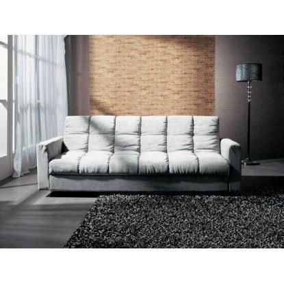 The Sophie is covered in a soft padded fabric seating giving it a warm luxurious feel. When needed it quickly folds down into a supremely comfortable sofa bed,