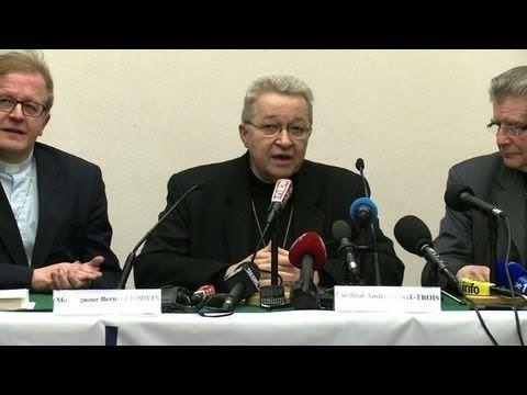 Politique - Benoît XVI brise un tabou, selon Mgr André Vingt-Trois - http://pouvoirpolitique.com/benoit-xvi-brise-un-tabou-selon-mgr-andre-vingt-trois/