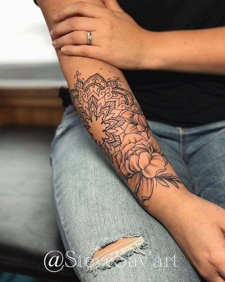 Tattoos frauen unterarm Tattos &