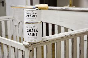 Adventures of Alex & Emily: How to: paint a baby crib with Annie Sloan Chalk Paint