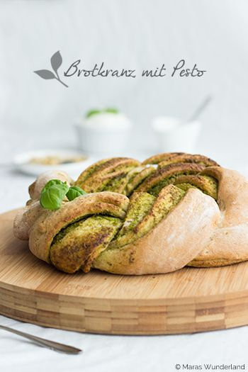 Pesto-Brotkranz
