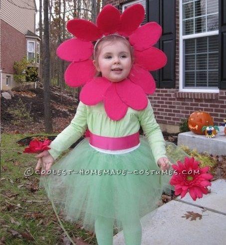 Como Hacer Disfraz Flor Nina