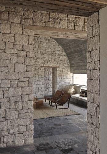 Muros y pavimentos de roca