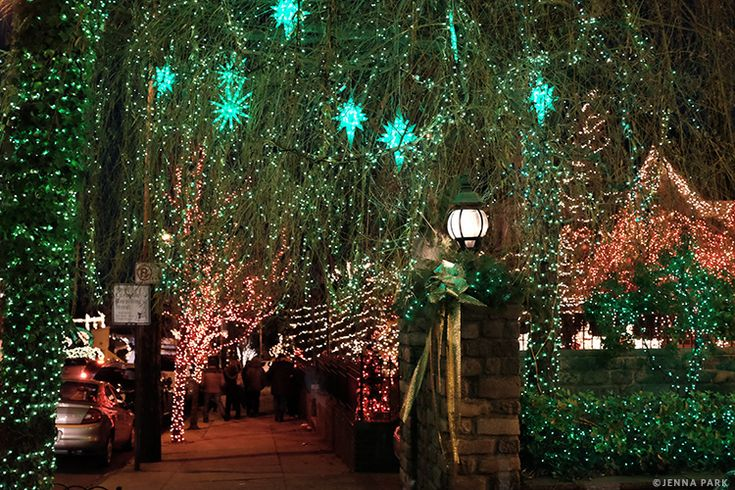 Dyker Heights at Christmas New years traditions