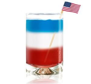 blue curacao layered drinks | Shoot off more than just fireworks this 4th of July. This Bomb Pop is ...