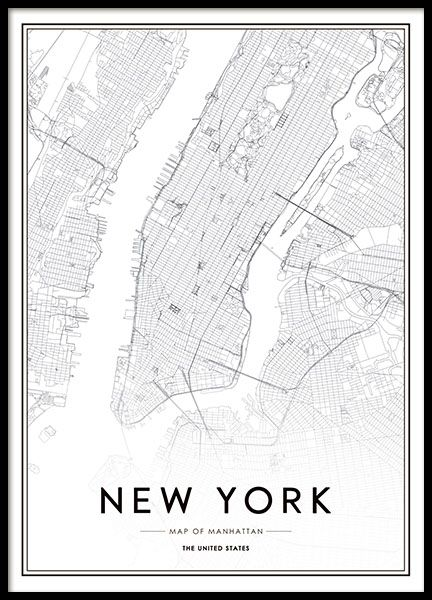 Print with New York.